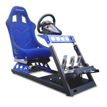 GamePod GT2 Sport Blue Gaming Race Seat
