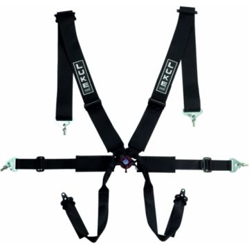 Luke B2006F Single Seater 6 Point Harness With Aero Adjusters