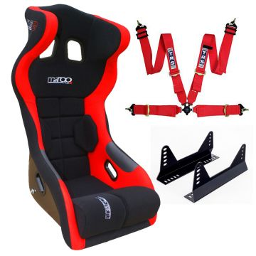Mirco RS2 Seat, Side mounts and TRS Point Harness