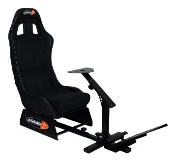 PlaySeats Evolution Alcantara Gaming Race Seat With Gearshift Holder