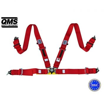 QMS 4 Point FIA Harness Belt