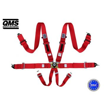 QMS 6 Point FIA Harness Belt
