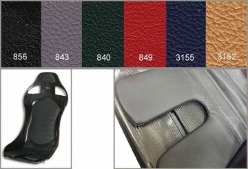 Reverie Leather Mulsanne, X and XR Narrow Seat Cushion Trim Kit