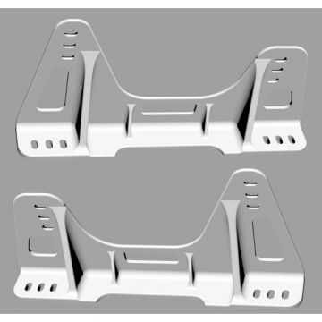 Reverie Solid Billet Aluminium FIA Side Mounts for Super Sports Seat