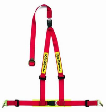 Sabelt 3 Point Double Release Clubman Harness