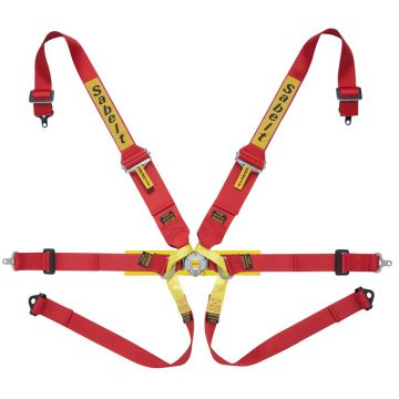 Sabelt Steel Series Lightweight 6 Point HANS Harness