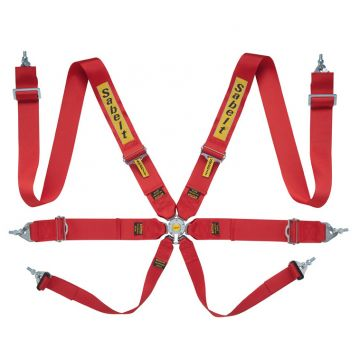 Sabelt Steel Series Lightweight 6 Point (75mm/75mm) Harness