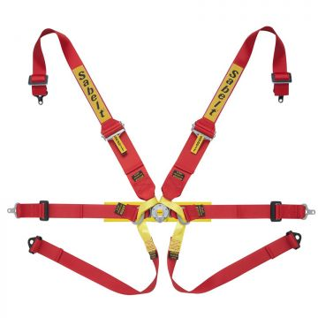 Sabelt Steel Series Lightweight 6 Point Single Seater Harness