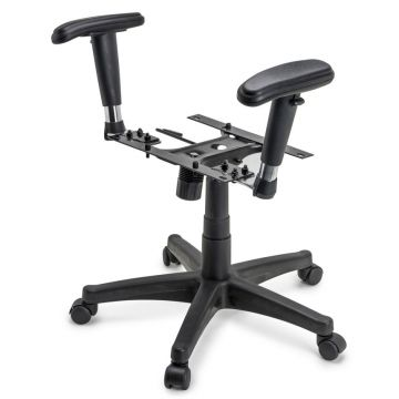 Sparco Office Seat Base With Arms