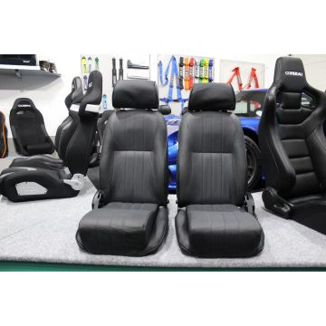 Corbeau Sportsman Leather Reclining Sport Seat