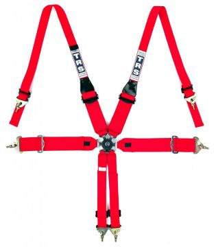 TRS Magnum 6 Point Superlite FIA HANS Harness Belt