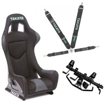 Takata Race LE Honda S2000 Bucket Seat package
