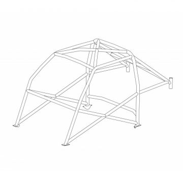 Custom Cages - Talbot Sunbeam Historic CDS Roll Cage
