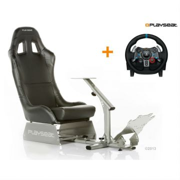 Playseat Evolution Black With Logitech G29