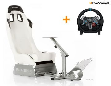 Playseat Evolution White With Logitech G29