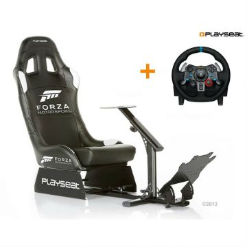 Playseat Forza Motorsport With Logitech G29
