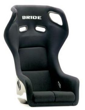 Bride Gardis III Carbon Bucket Seat and Seat Rail Set