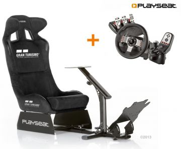 PlaySeats Gran Turismo Gaming Race Seat with Logitech G27