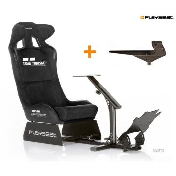 PlaySeats Gran Turismo Gaming Race Seat with Gearshift Holder Pro