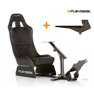 PlaySeats Evolution Alcantara Gaming Race Seat With Gearshift Holder Pro