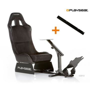 PlaySeats Evolution Alcantara Gaming Race Seat With Gearshift Support