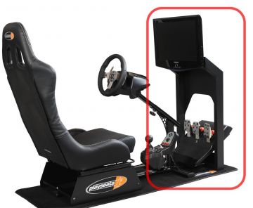 PlaySeats - LCD Screen Stand Black Coated