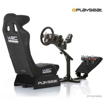 PlaySeats WRC Gaming Seat with Logitech G27 and Gearshift Support