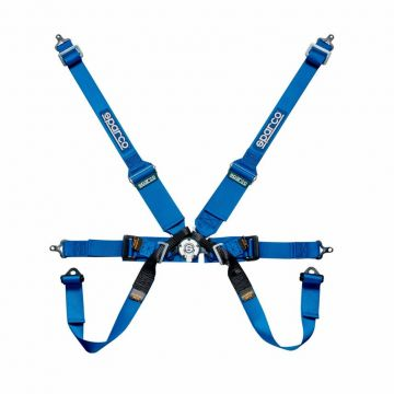 Sparco 6 Point HANS Racer Harness