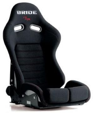 Bride Stradia II Low Max Reclining Sport Seat and Seat Rail Set