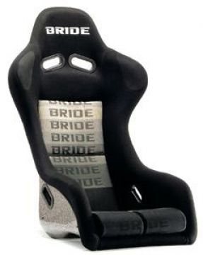 Bride ZETA III Carbon Bucket Seat and Seat Rail Set