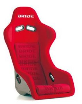 Bride Zeta III Type-S Carbon Bucket Seat and Seat Rail Set