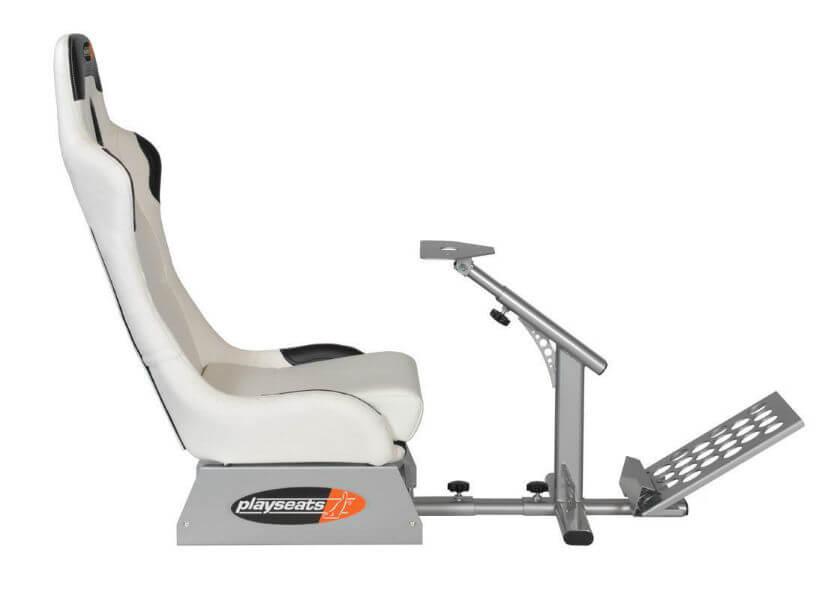 PlaySeats - Evolution White Gaming Seat + Logitech G27 - GSM SportSeats4u