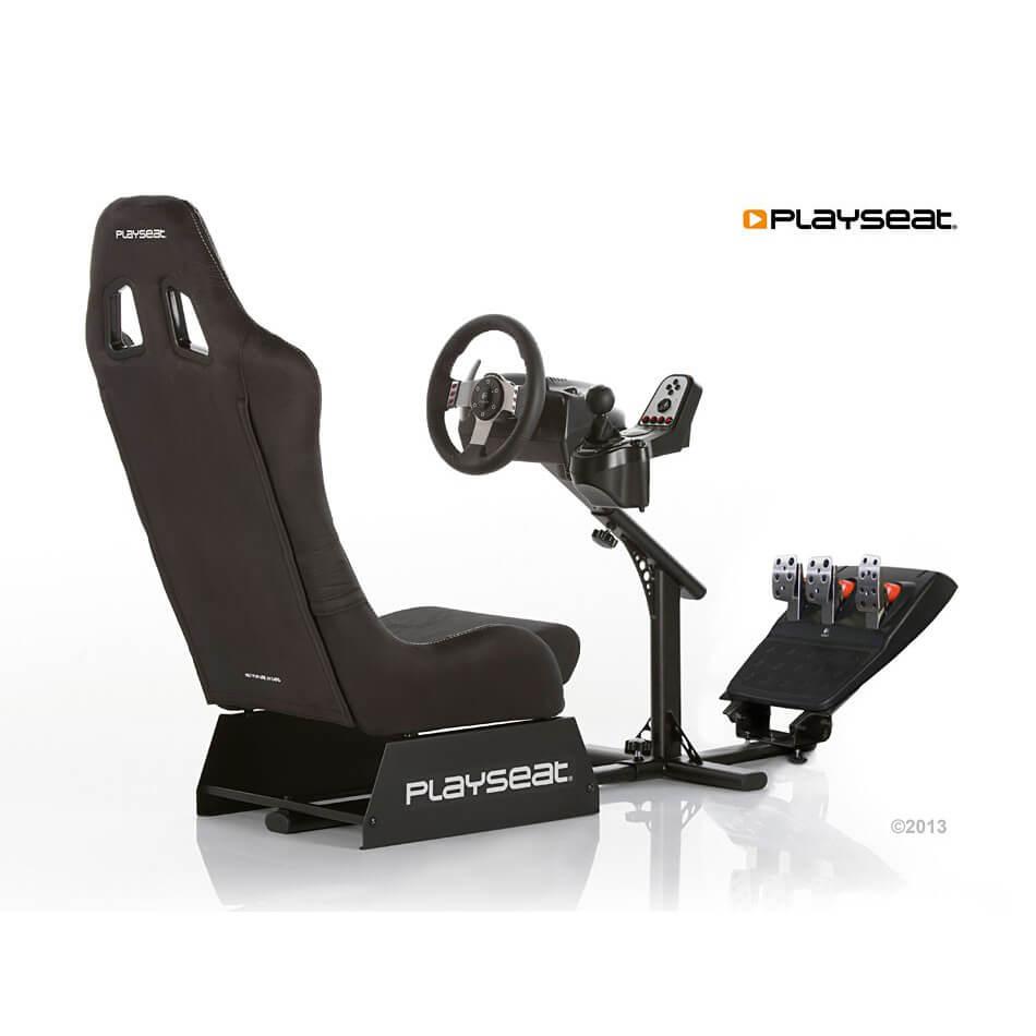 PlaySeats Evolution Alcantara Gaming Race Seat With Gearshift Holder