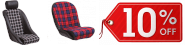 10% OFF ALL Cobra classic Tartan Seats